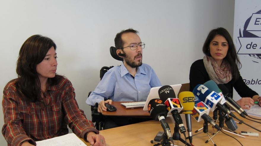 """Echenique no sabe si Tania Sánchez entrará en Podemos y espera que IU no se destruya porque """"tiene cosas que aportar"""""""