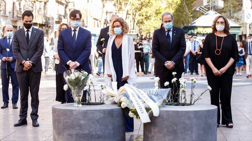 Barcelona recuerda en silencio el 17A con las víctimas como protagonistas