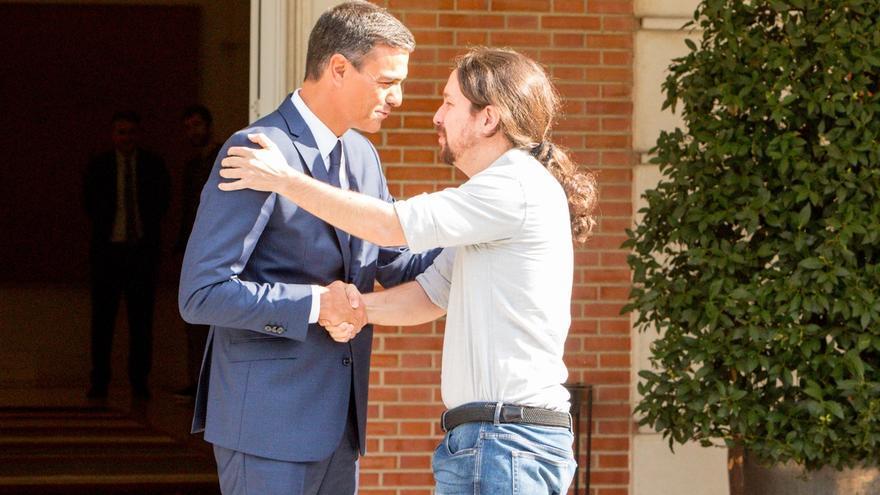 Pablo Iglesias telefoneó a Pedro Sánchez para aconsejarle que publicara su tesis doctoral