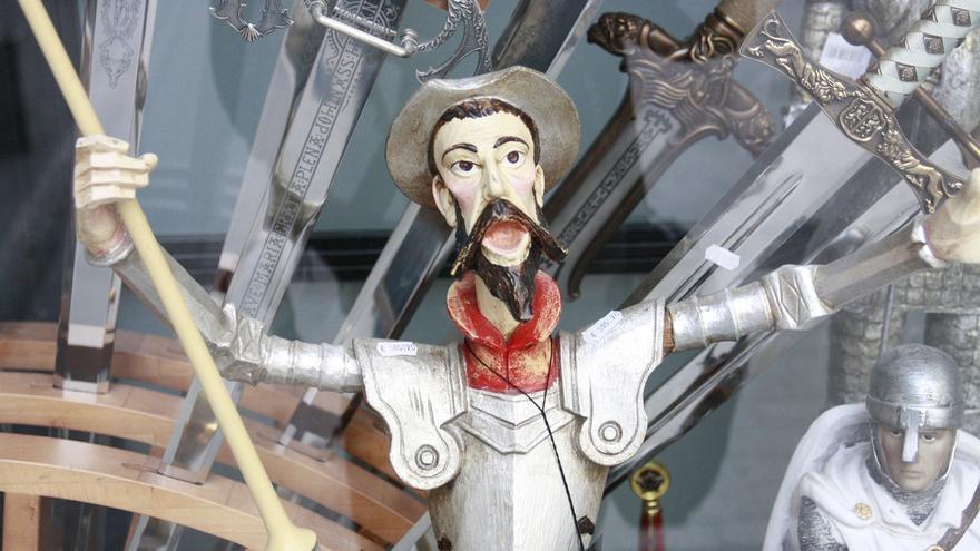 La batalla de los molinos o la recuperación de la cordura, pasajes favoritos del Quijote de los candidatos de C-LM