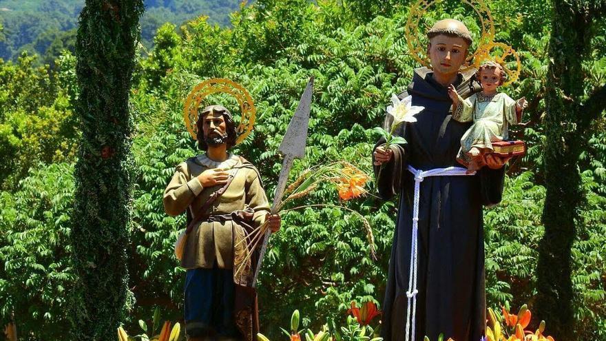 Imagen de archivo de la procesión de San Antonio.