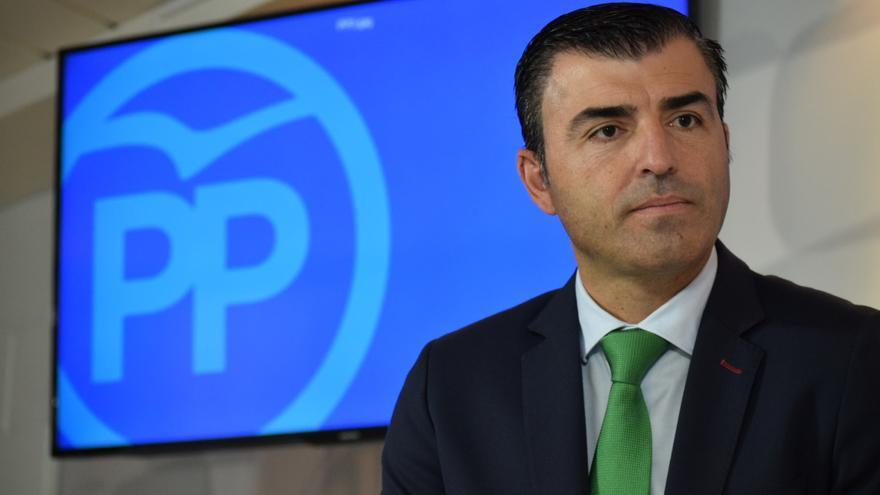 Manuel Domínguez, presidente del PP en Tenerife, en una imagen de archivo