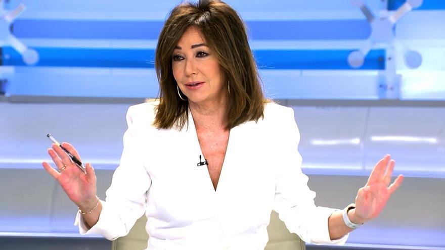 Ana Rosa Quintana en su vuelta a 'El programa de AR'