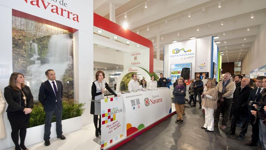 El gasto de los turistas extranjeros en Navarra aumentó un 20% en 2014 hasta los 178 millones de euros