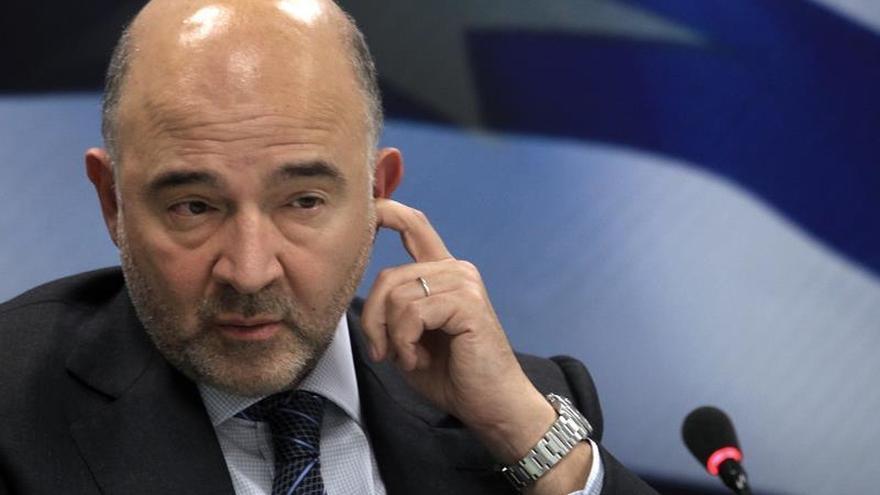Moscovici dice que habrá acuerdo con Grecia sobre ejecuciones hipotecarias