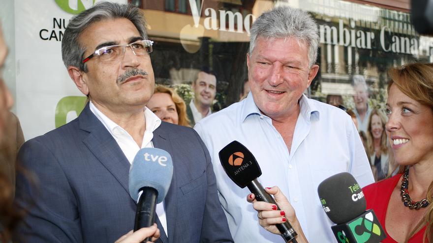 Román Rodríguez y Pedro Quevedo (ALEJANDRO RAMOS)