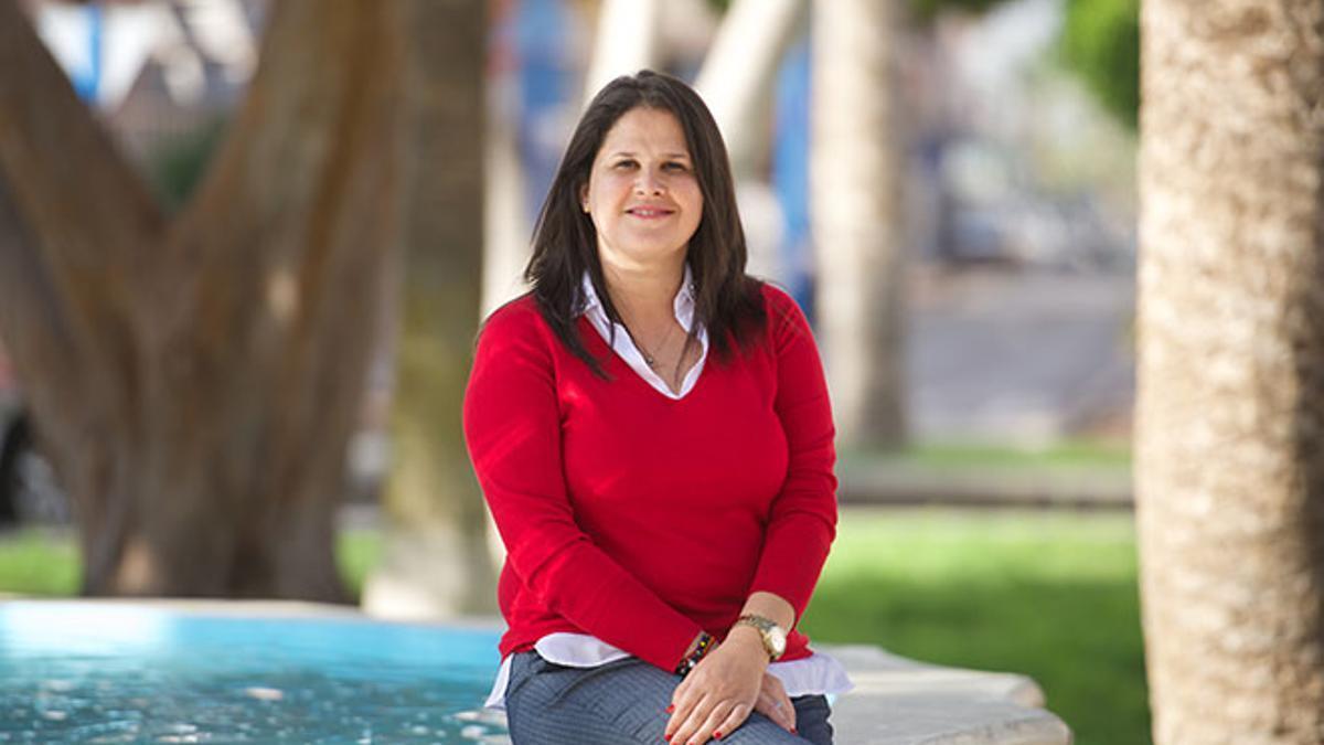 Esther Hernández (PP), alcaldesa de Tuineje (Fuerteventura).