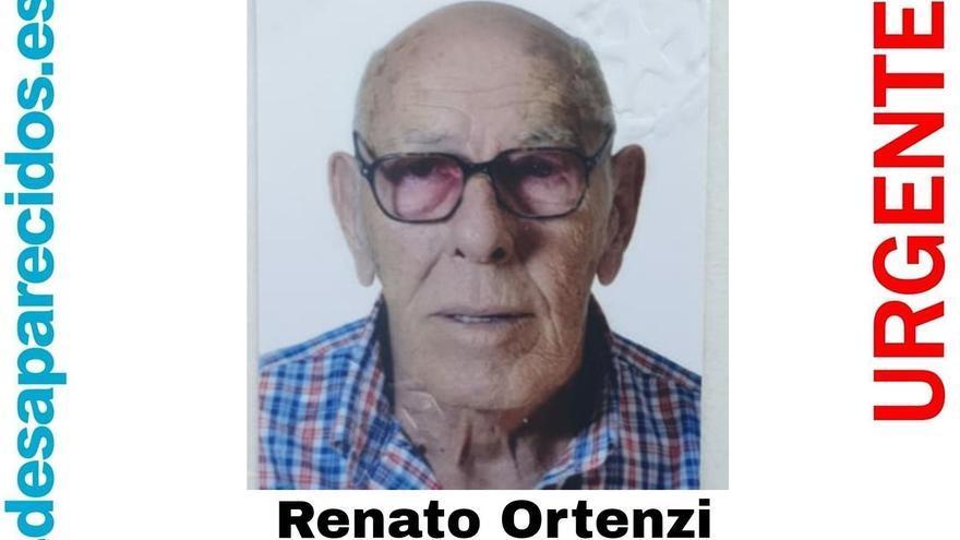 Se busca a Renato Ortenzi, un anciano con alzhéimer desaparecido en el sur de Tenerife