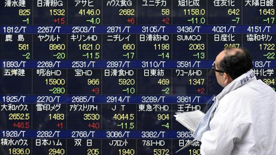 El Nikkei sube un 0,34 por ciento hasta los 20.333,64 puntos