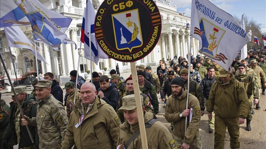 Crimea y Sebastopol celebran anexión a Rusia con apoyo masivo en Moscú