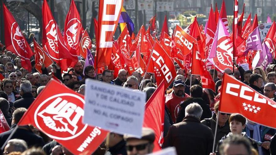 Manifestación sindical.