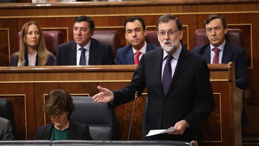 """Rajoy espera """"participación masiva"""" y urge a recuperar la normalidad para mitigar los daños económicos"""