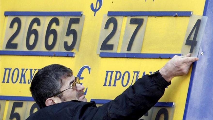 El Banco Central de Rusia mantiene la calma ante la caída del rublo
