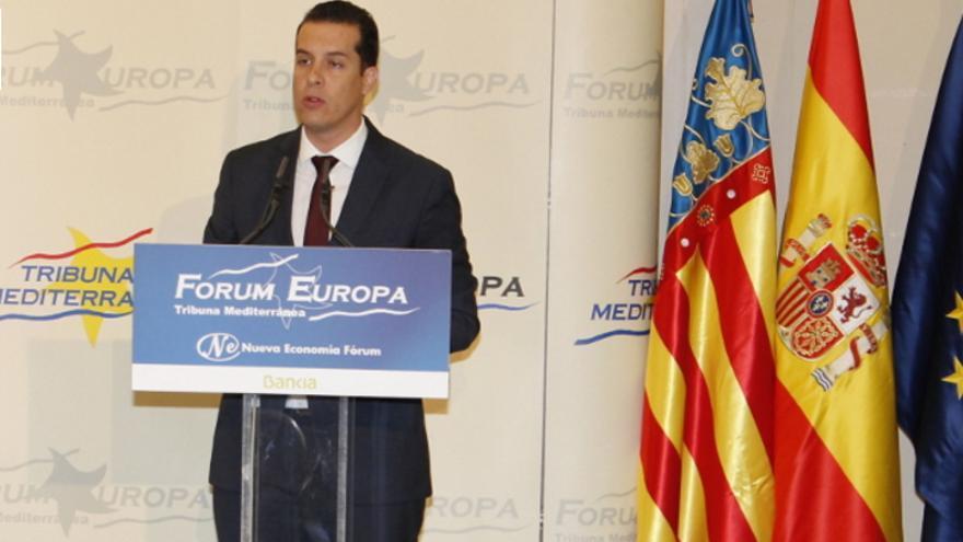 El socialista Rubén Alfaro, alcalde de Elda y presidente de la FVMP en el Fórum Europa