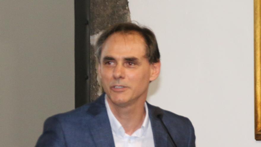 Carlos Fernández es presidente de la Asociación de Turismo Rural Isla Bonita.