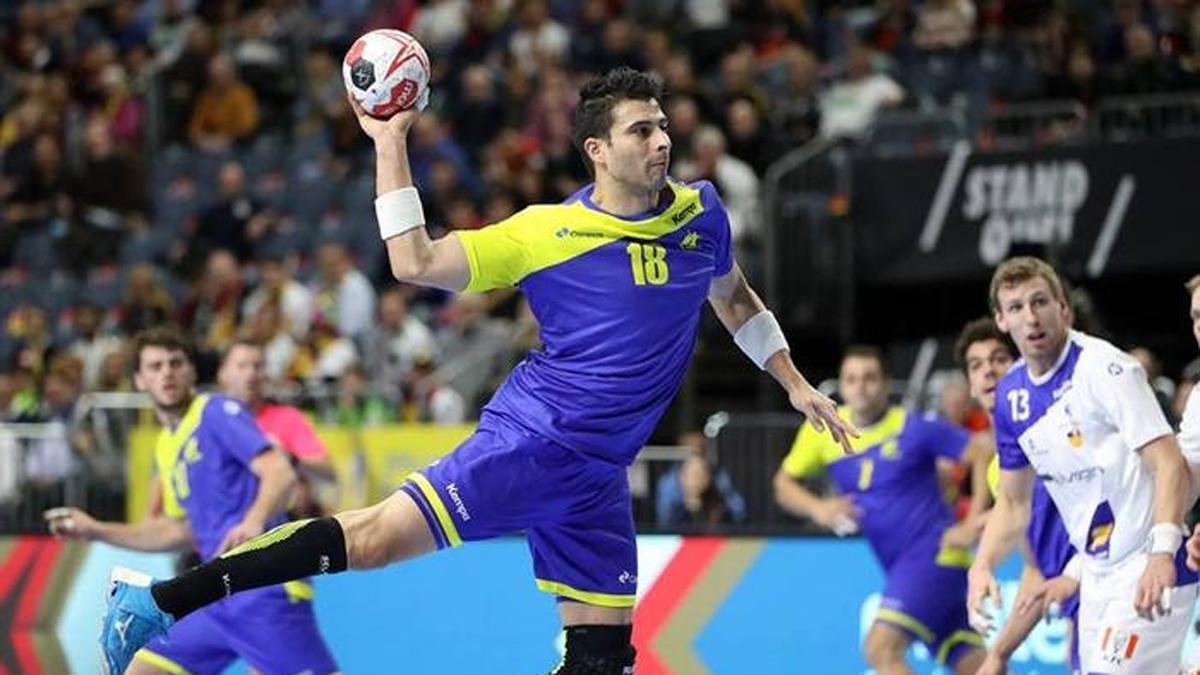 Felipe Borges, con la selección de Brasil