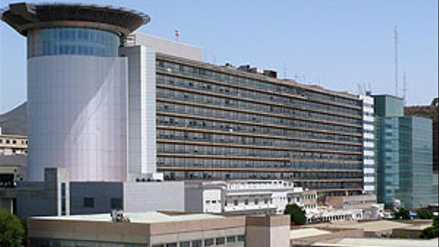 Hospital Universitario de Canarias, en La Laguna.