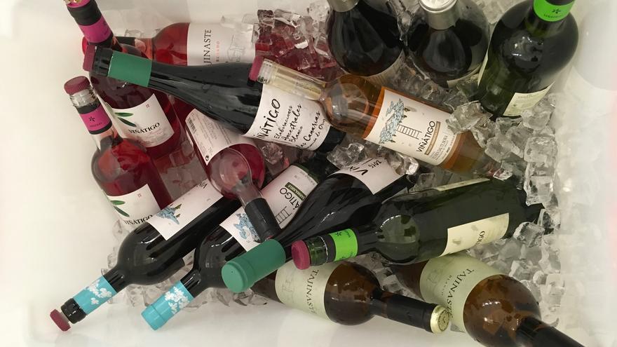 En la imagen, los vinos que se podrán degustar en la cata.