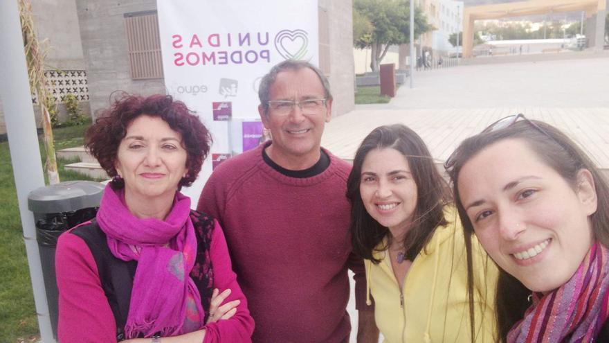 Miembros del Círculo de Podemos Pájara.