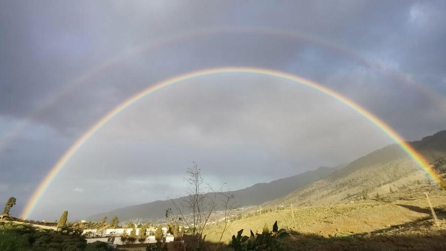 Precipitaciones este miércoles en el  oeste de La Palma