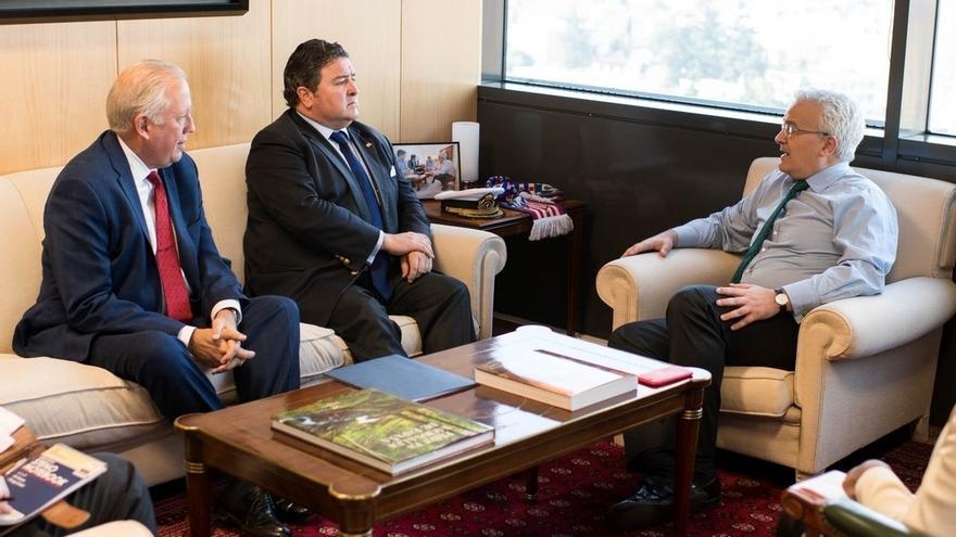 El 'número tres' del Departamento de Estado analiza en Madrid la cooperación en seguridad y la situación de Venezuela