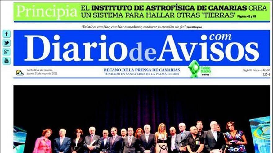 De las portadas del día (31/05/2012) #3