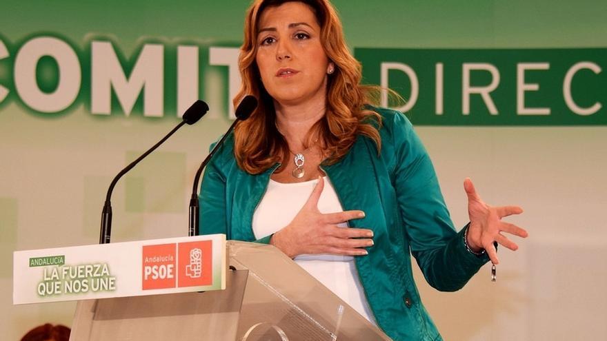 """Díaz: """"cualquier persona del PSOE-A que resulte imputada por el TS o por el TSJA va a tener que dejar el escaño"""""""