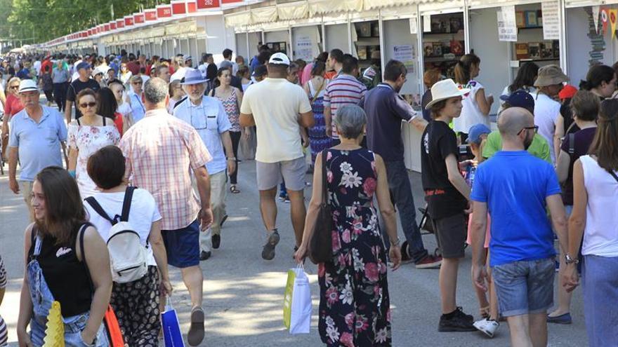La Feria del Libro de Madrid aumenta un 8 por ciento sus ventas
