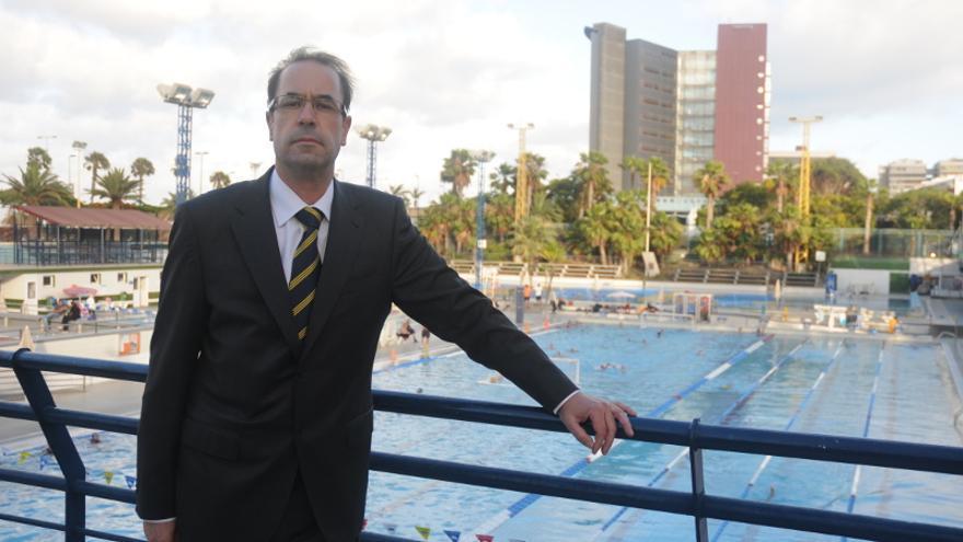 El presidente del Club Natación Metropole José Feo García (cnmetropole.com)