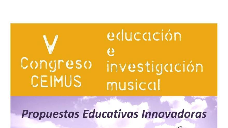 Cartel V Congreso 'CEIMUS' en Cuenca