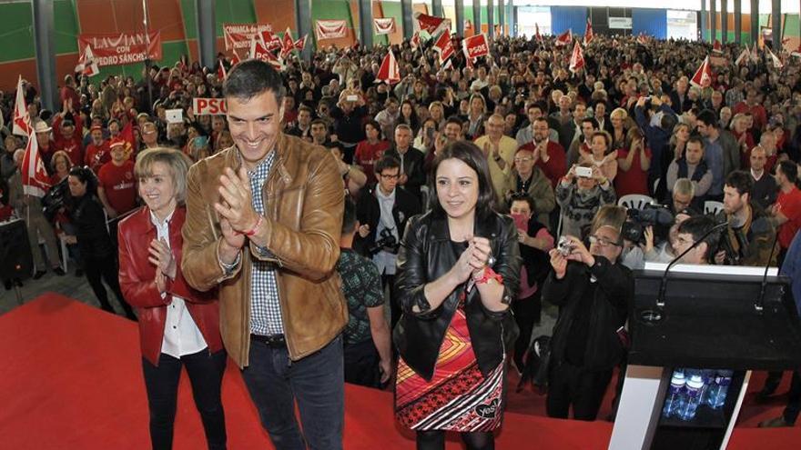 Sánchez, seguro de que no habrá dique que frene al PSOE de la militancia