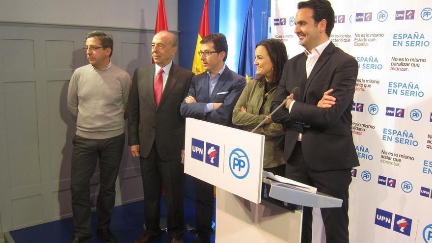 """UPN-PP defiende a Navarra como """"una tierra de pacto dentro de España y Europa"""""""