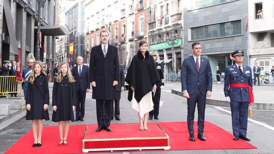 Los Reyes presiden el inicio de la legislatura