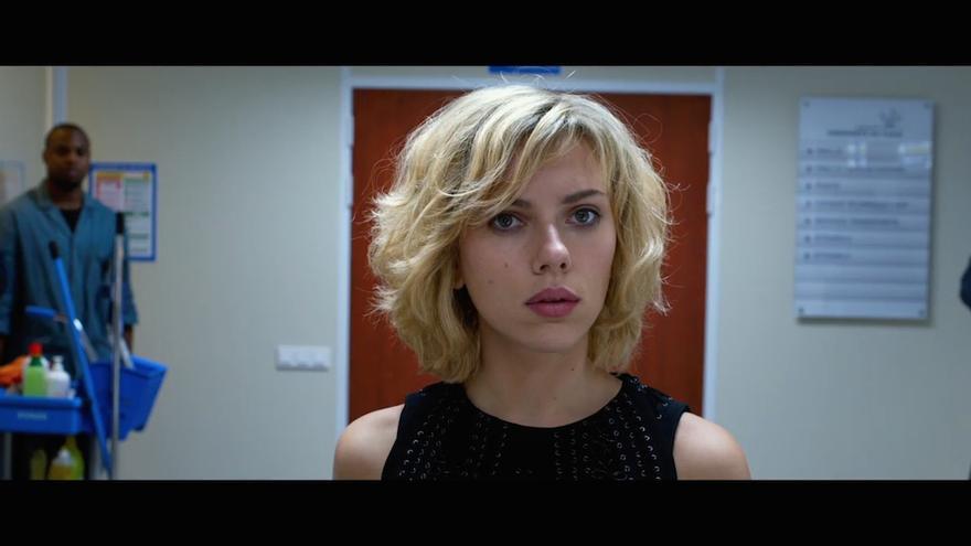 Scarlett Johansson en 'Lucy', la última película de Luc Besson