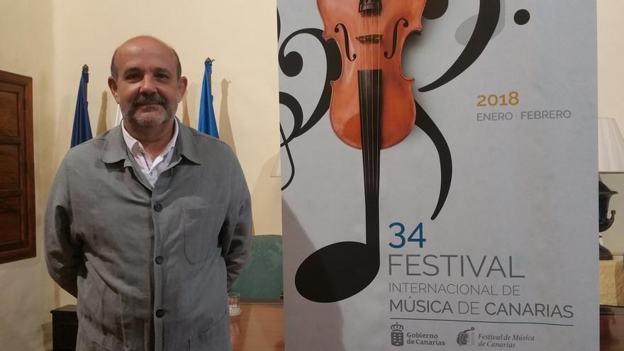 Jorge Perdigón es el nuevo director del Festival de Música de Canarias.