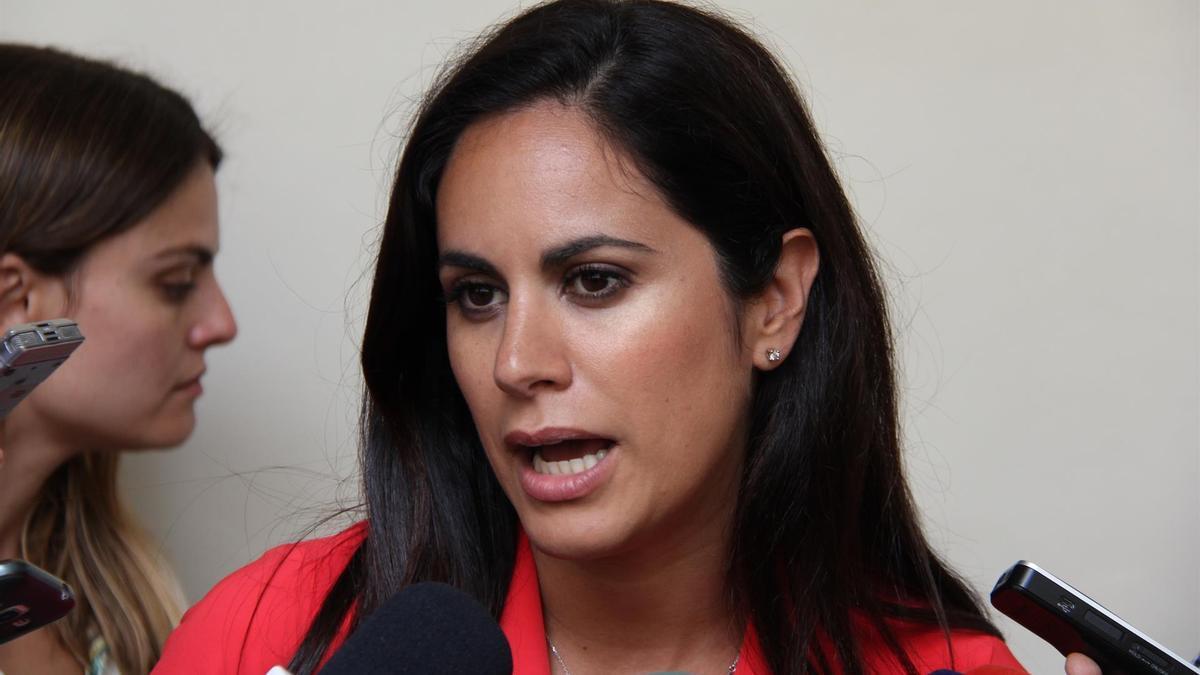 Vidina Espino, hasta ahora portavoz de Ciudadanos en el Parlamento de Canarias