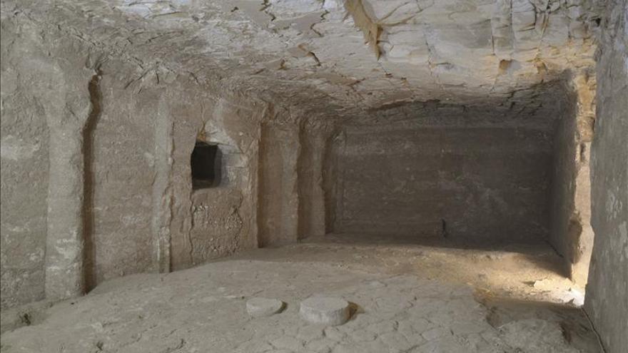 Expertos españoles redescubren una tumba faraónica de hace 2.700 años en Egipto