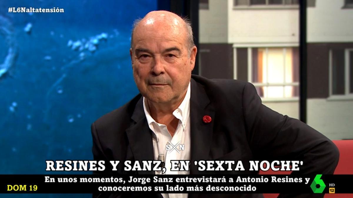 Antonio Resines, en 'laSexta Noche'