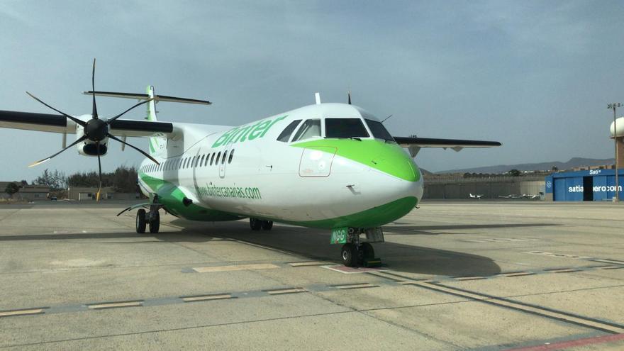 Nuevo avión ATR 72-600 de Binter-