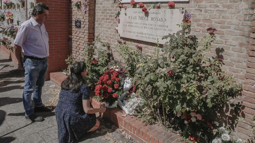 El PCE recuerda a jóvenes fusilados por el franquismo en Madrid hace 78 años