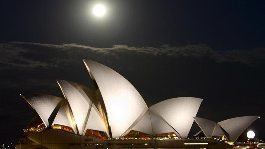 Sídney y sus proyecciones luminosas hacen de la noche un arte