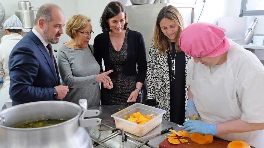 Ampros elaborará los 2.500 menús de este año en el Centro de Acogida Princesa Letizia