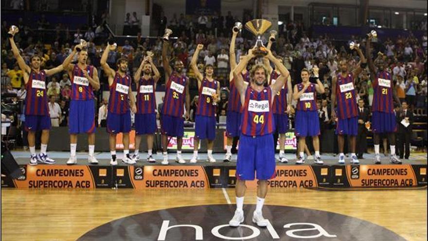 El Barça, campeón de la Supercopa ACB