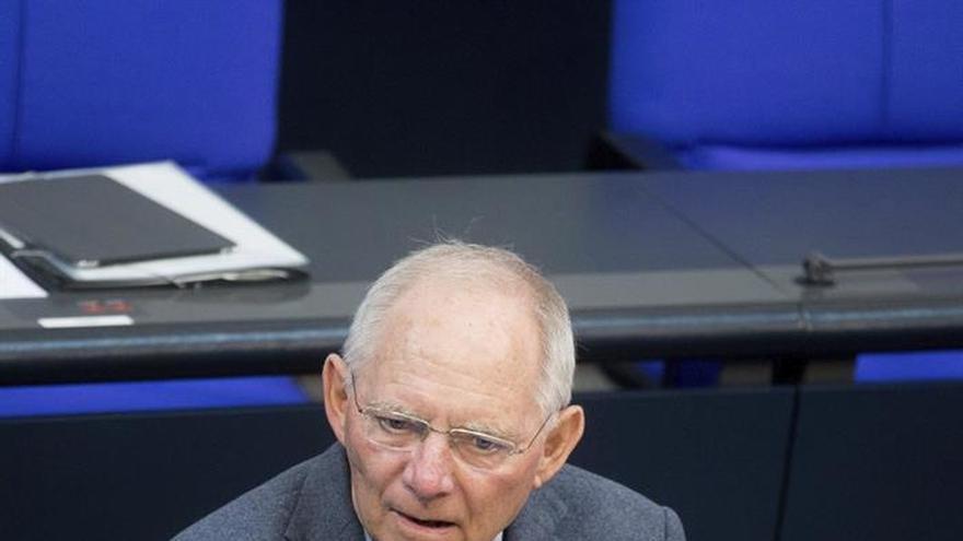 Schäuble tuvo que decir al BCE que sus medidas tienen consecuencias