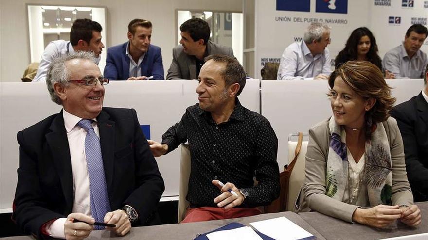 UPN y PP cierran un acuerdo para concurrir juntos a las elecciones del 20D