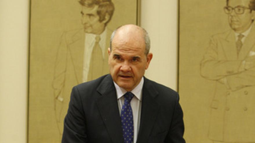 Vicepresidente Tercero y Ministro de Política Territorial, Manuel Chaves