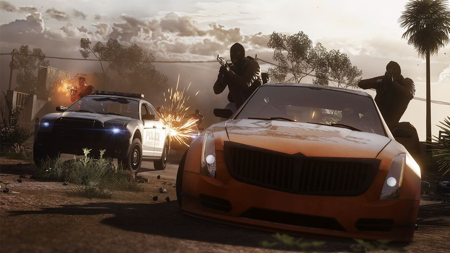 Battlefield Hardline Hotwire Screens