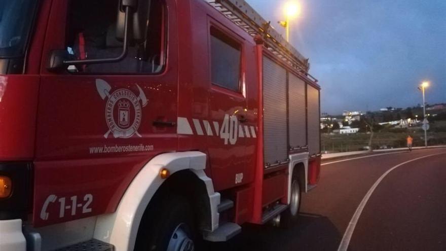 Camión de Bomberos en Tenerife.