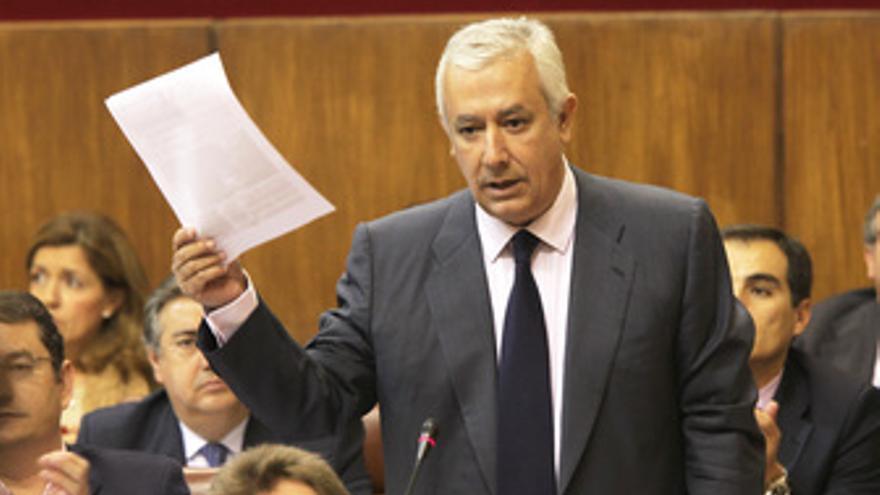 Arenas formula una pregunta a Griñán en el Parlamento