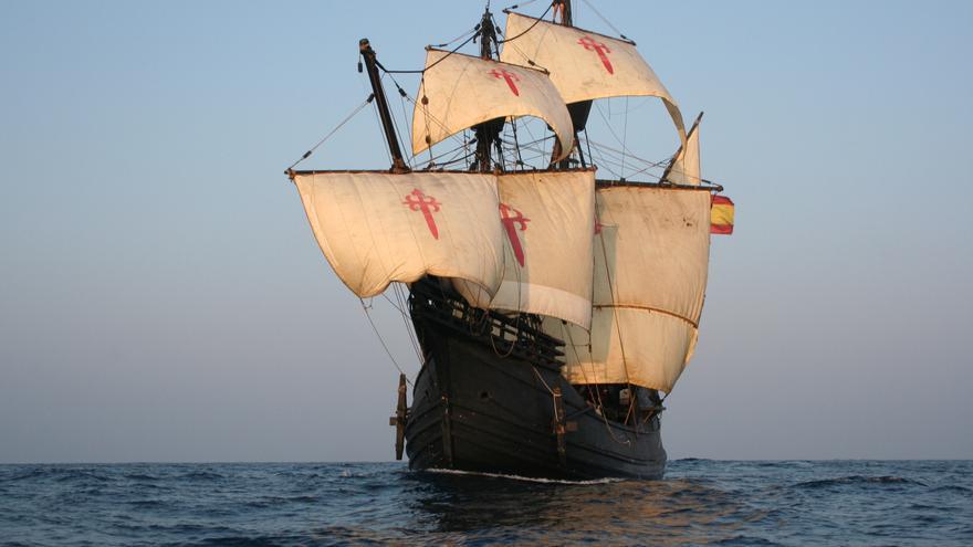 Nao Victoria, réplica del primer navío que dio la vuelta al mundo hace cinco siglos